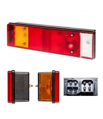 PRO-STRIPE LED BIANCO 305MM 12V 280 LUMEN CON INTERRUTTORE