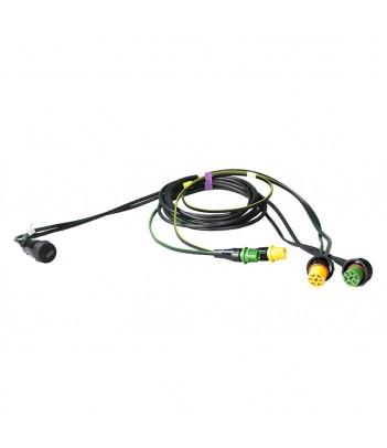 PRO STRIPE ECO LED BIANCO 24V 527MM CAVO DC