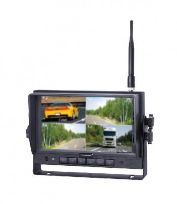 PRO-SQUARE LED 2 FUNZIONI RETRONEBBIA E RETROMARCIA 12/24V