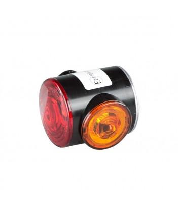 PRO-BOX LED 3 FUNZIONI POSIZIONE STOP E FRECCIA 12/24V CON LUCE TARGA E CONNETTORE 5 POLI
