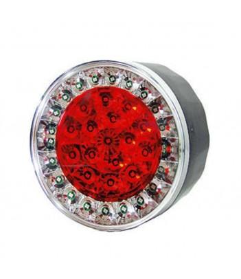 LUCE LATERALE 5 LED 12/24V BASE ADESIVA