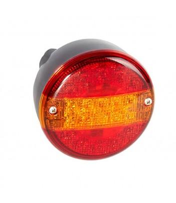 FANALE POSTERIORE MULTILED MOTRICE 3 SX 12-24V CONNETTORE 7 POLI AMP