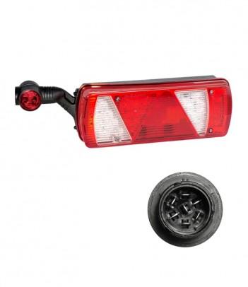 SIDEPOINT LAMPADINA 24V CAVO 0,5M P&R CON STAFFA