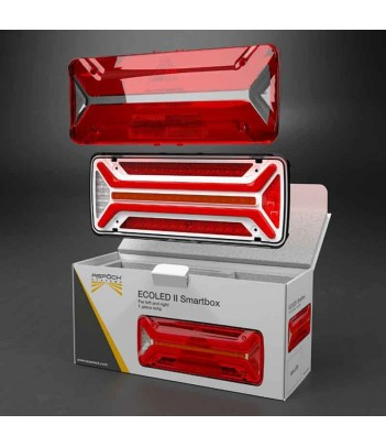 SUPERPOINT 4 LED SINISTRO 12/24V P&R