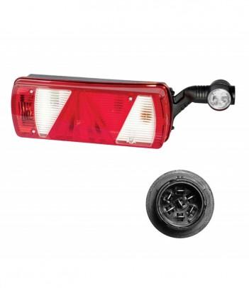 SIDEPOINT LAMPADINA 24V CAVO 0,5M P&R CON PROTEZIONE