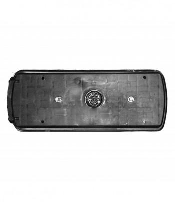 FLATPOINT 2 LED ARANCIONE 24V CAVO 0,5M P&R CON STAFFA 90° ANTERIORE