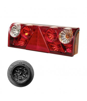 SUPERPOINT 3 LED DESTRO 24V P&R STAFFA DRITTA