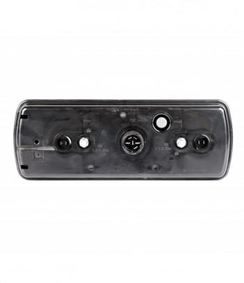UNIPOINT 1 LED ARANCIONE 24V CAVO 0,5M P&R CON STAFFA 90° RIVOLTA POSTERIORMENTE
