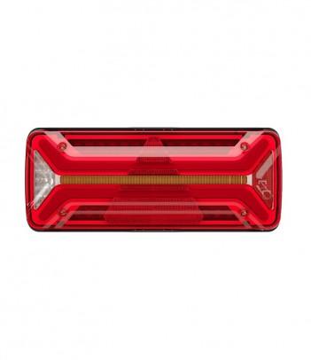FLATPOINT 2 LED ARANCIONE 24V CAVO 0,5M P&R