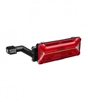 FLATPOINT 2 LED ROSSO 12/24V CAVO 0,5M DC