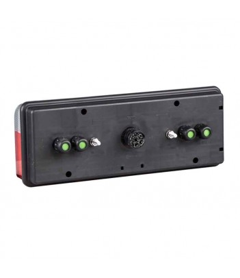 POSIPOINT 2 LED ROSSO 12/24V CAVO 1,5M P&R