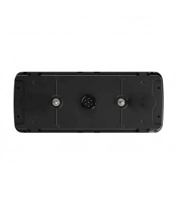FLATPOINT 2 LED ARANCIONE 12V CAVO 0,5M DC DA INCASSO