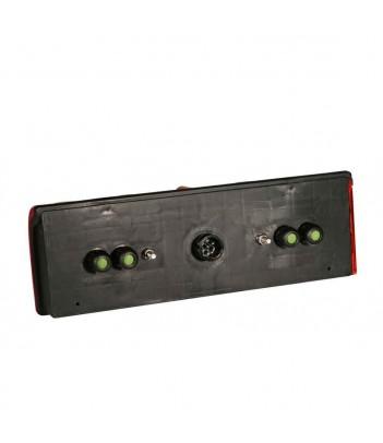 UNIPOINT LED ROSSO 24V CAVO 0,5M P&R
