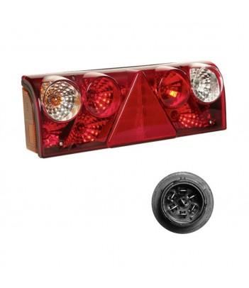 BRASPOINT 98 LED RETROMARCIA/RETRONEBBIA 12/24V