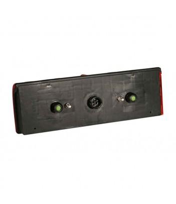 FLATPOINT 1 LED BIANCO 24V CAVO 0,5M P&R CON PROTEZIONE