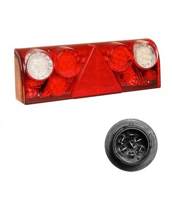 FLATPOINT 2 LED BIANCO 12V CAVO 0,5M DC