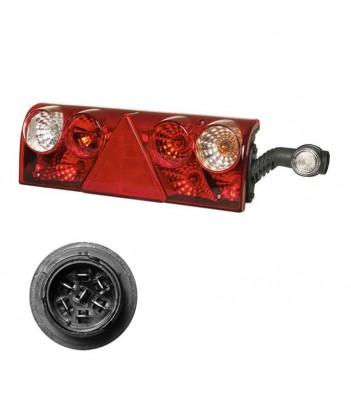 EARPOINT LED DESTRO 12/24V CONNETTORE 5 POLI ASPOCK
