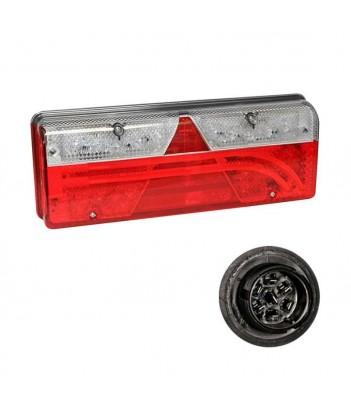 INPOINT 3 LED OVALE LUNGO 12/24V 1400 LUMEN