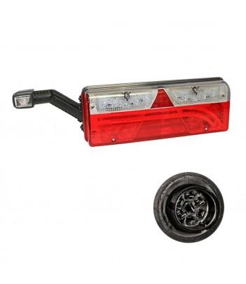 FARO LAVORO/RETROMARCIA LED OVALE 12/24V