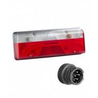 EARPOINT LED DESTRO 12/24V CONNETTORE 7 POLI ASPOCK
