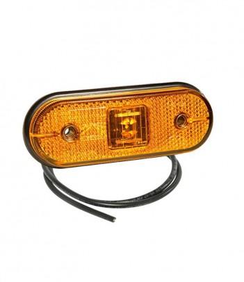 ROUNDPOINT 2 LED RETROMARCIA 12/24V