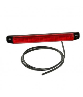 LUCE LATERALE LED ARANCIONE 12/24V CAVO 1,5M DC CON DOWN LIGHT