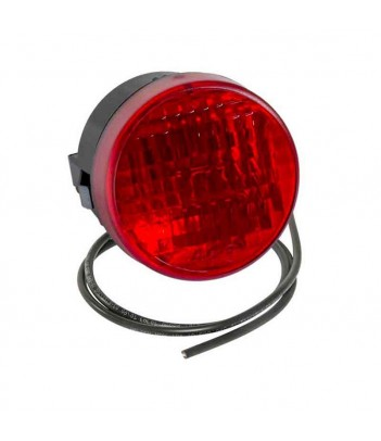 CALOTTA ARANCIONE BASSA LAMPEGGIANTI LED
