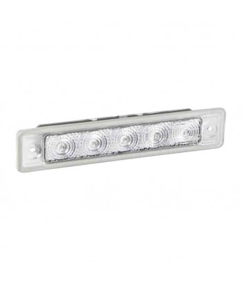 PORTATARGA CON REGPOINT LED 12V DC