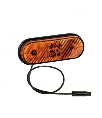 LAMPEGGIANTE ALTO ASPOCK LED 12/24V DIN CORTO