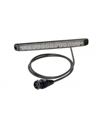 LAMPEGGIANTE BASSO ASPOCK LED 12/24V 3 VITI MAGNETICO