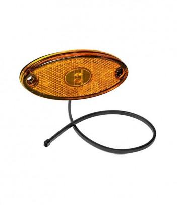 LAMPEGGIANTE BASSO ASPOCK  LED 12/24V DIN CORTO