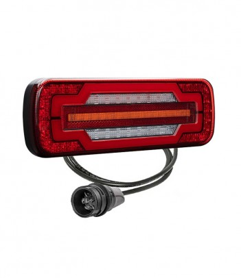 LINEPOINT 2 LED RETROMARCIA ORIZZONTALE 12/24V