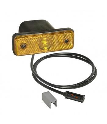 LAMPEGGIANTE BASSO ASPOCK LED 12/24V 3 VITI