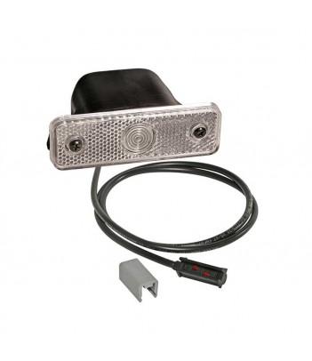 LAMPEGGIANTE ALTO ASPOCK LAMPADINA 12/24V 3 VITI SPIA MAGNETICA