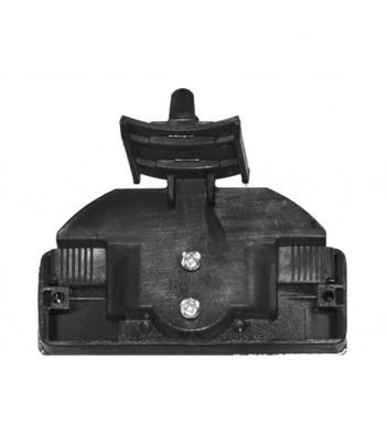 LUCE LATERALE ARANCIONE 5 LED 12/24V BASE ARANCIONE ADESIVA