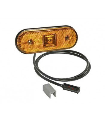 FLEXIPOINT LED BIANCO 12V DC CON STAFFA 90° LUNGA