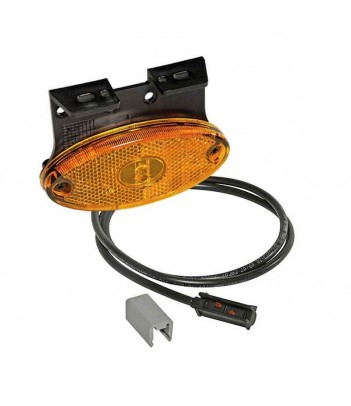 FLATPOINT 2 LED BIANCO 24V CAVO 0,5M P&R