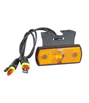 POSIPOINT 2 LED ROSSO 12/24V CAVO 0,5M P&R