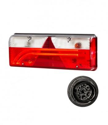 EARPOINT LED SINISTRO 12/24V CONNETTORE 5 POLI ASPOCK