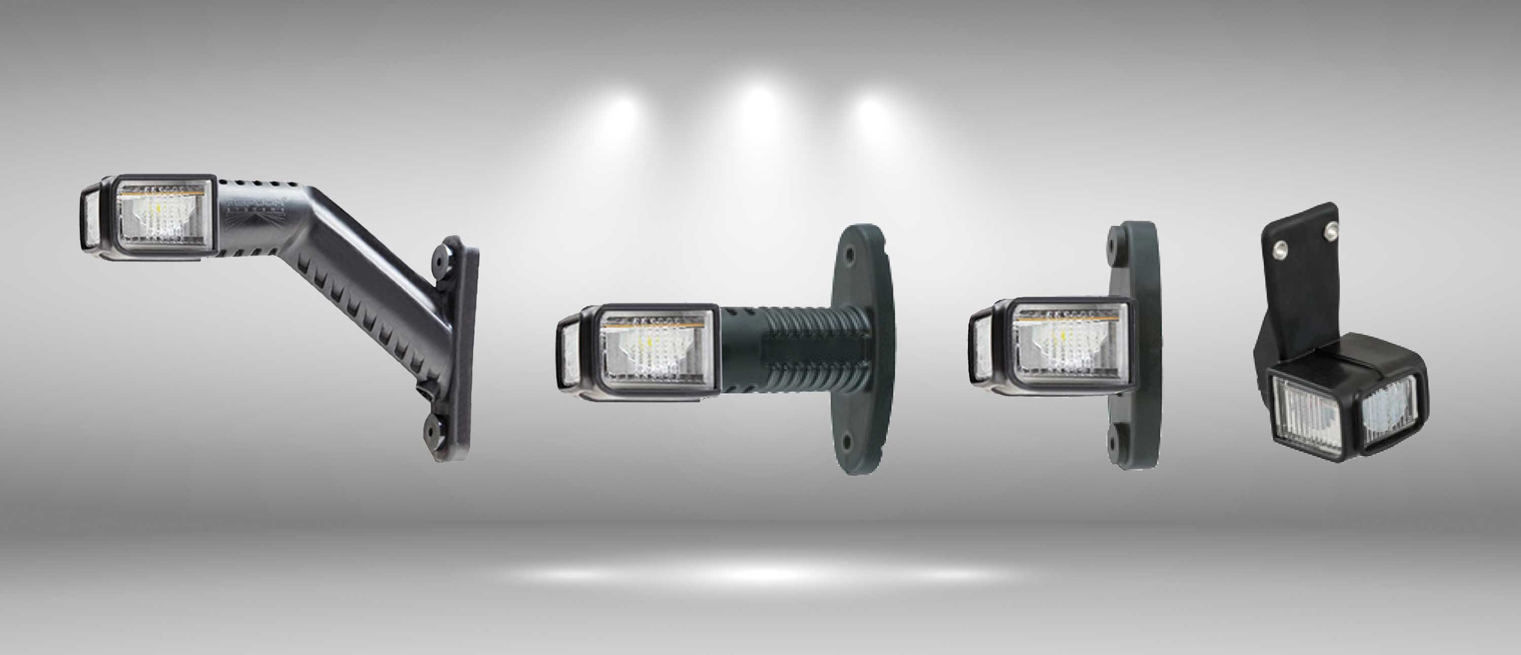 Luce d'ingombro SUPERPOINT 4 LED
